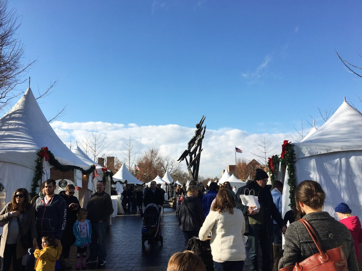 Birmingham, Michigan Winter Markt