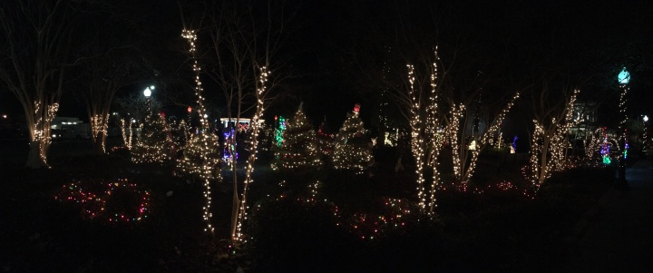 Christmas Evening in Slidell, LA